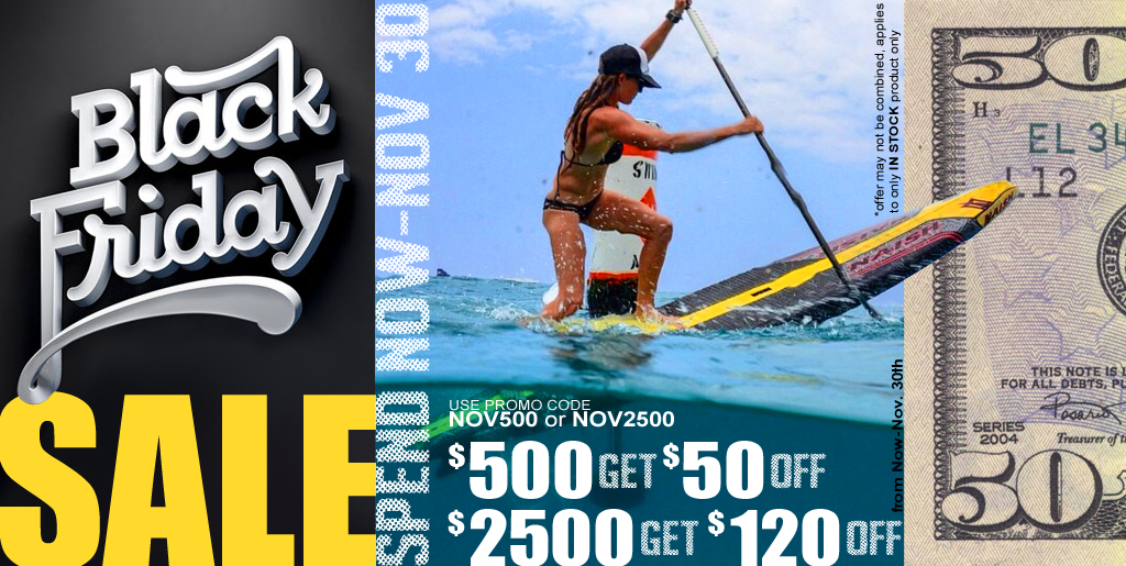 Black Friday Sale at Paddleboard Specialists