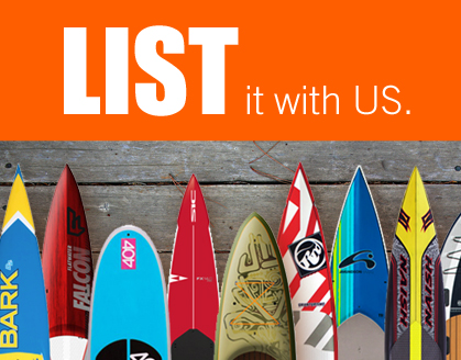 List your paddleboard with us