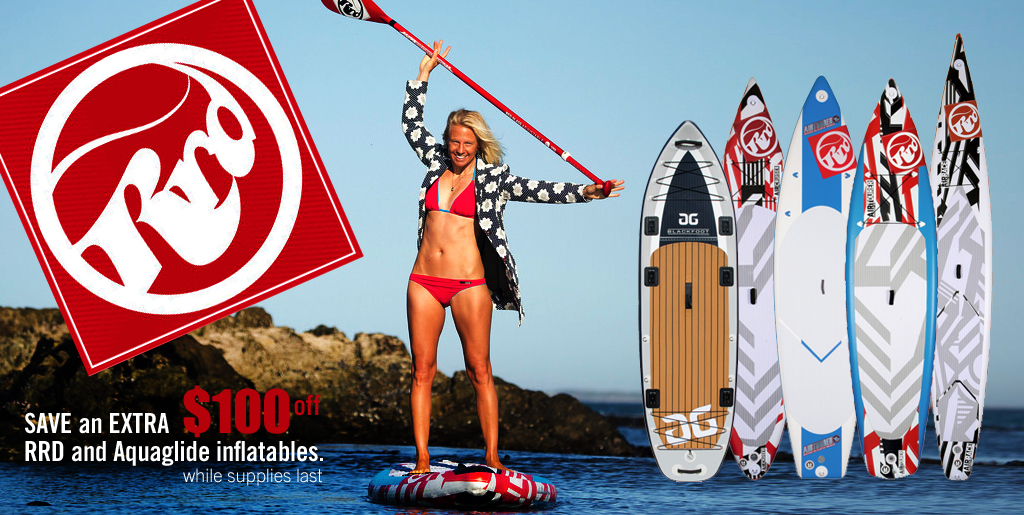 RRD Inflatable paddleboard SALE