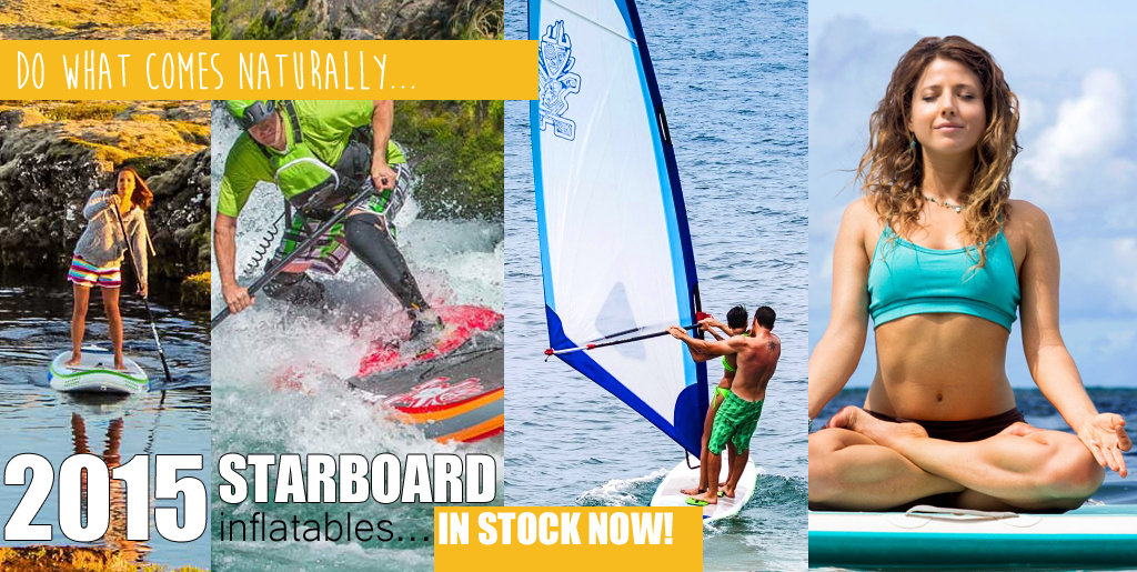 2015 Starboard Inflatables in stock